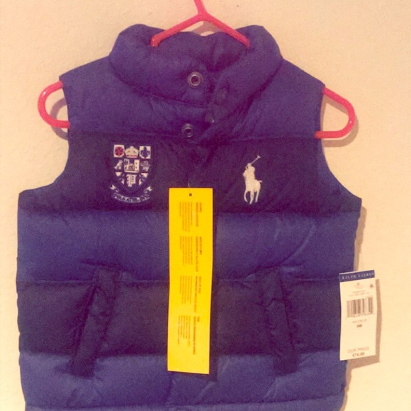 Ralph Lauren Other - Blue and Black Polo Vest